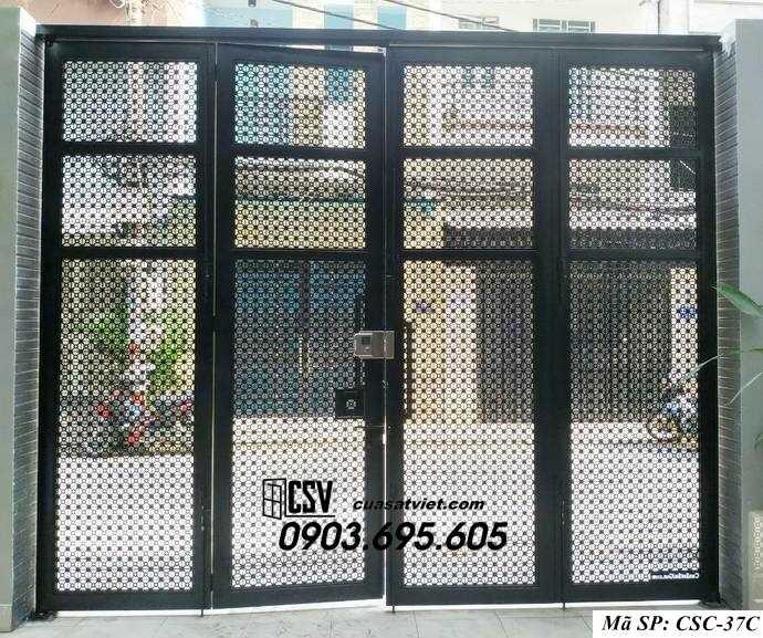 Mẫu cổng nhà đẹp CSC 37c