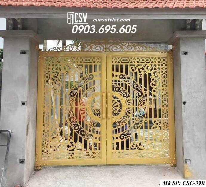 Mẫu cổng nhà đẹp CSC 39b