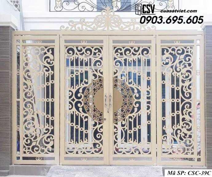 Mẫu cổng nhà đẹp CSC 39C