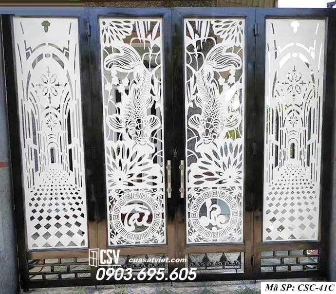 Mẫu cổng nhà đẹp CSC 41c