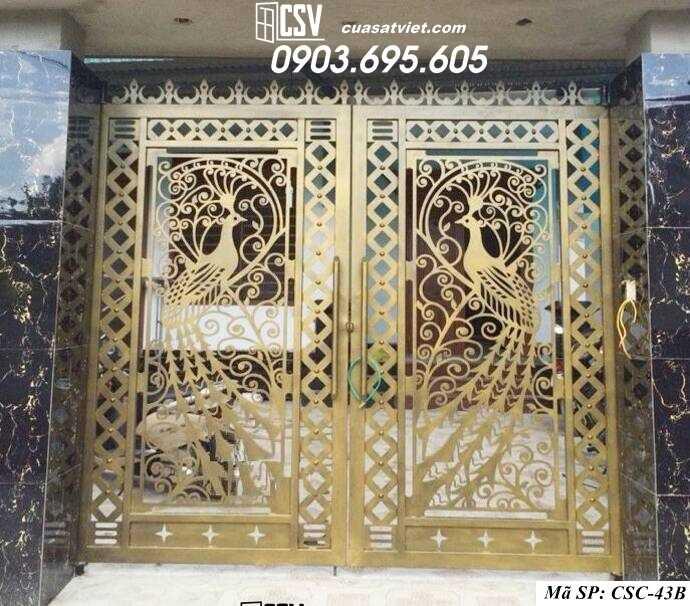 Mẫu cổng nhà đẹp CSC 43b