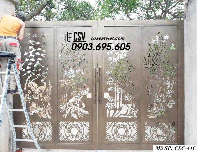 Mẫu cổng nhà đẹp CSC 44c