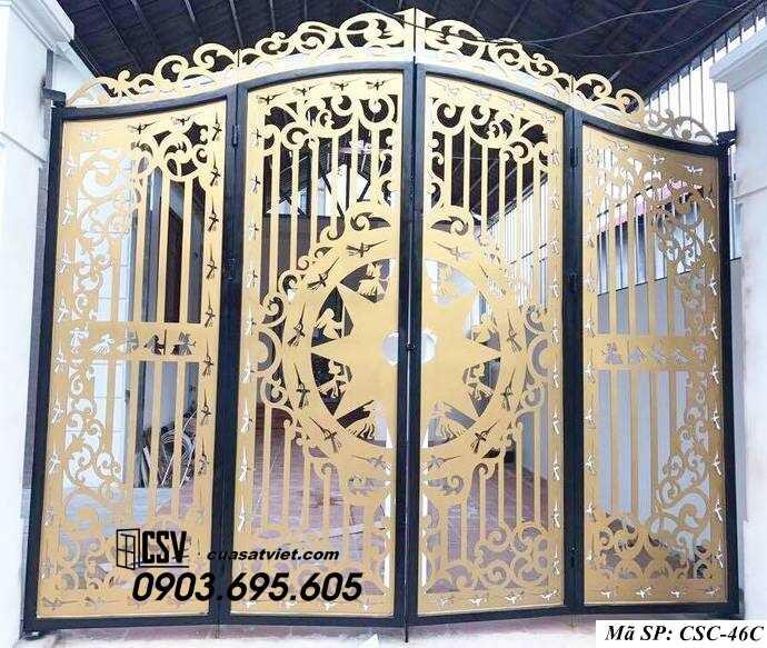 Mẫu cổng nhà đẹp CSC 46c