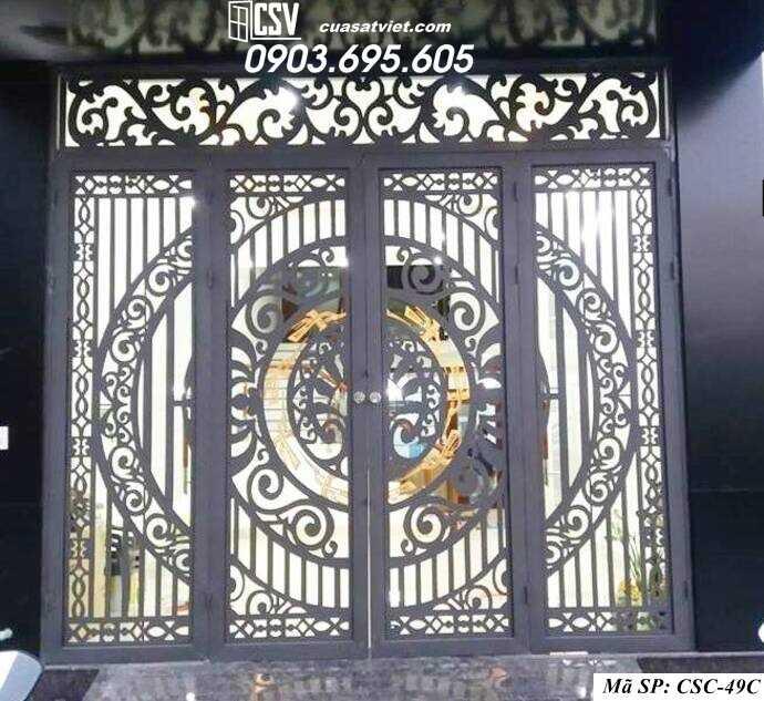 Mẫu cổng nhà đẹp CSC 49c