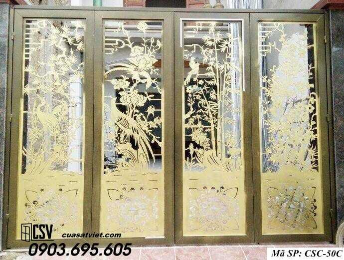Mẫu cổng nhà đẹp CSC 50c