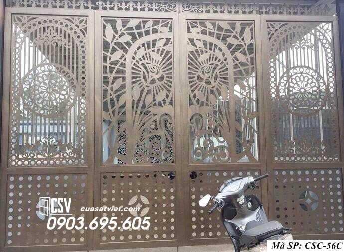Mẫu cổng nhà đẹp CSC 56c