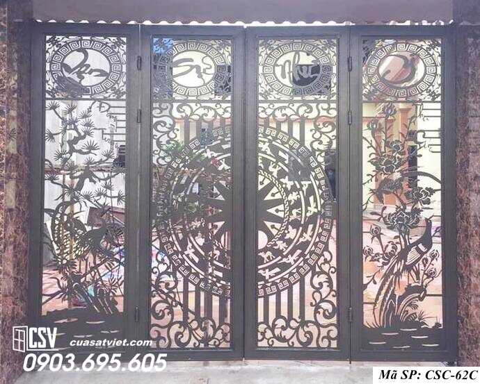 Mẫu cổng nhà đẹp CSC 62c