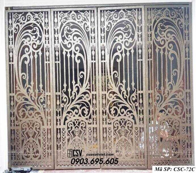Mẫu cổng nhà đẹp CSC 72c