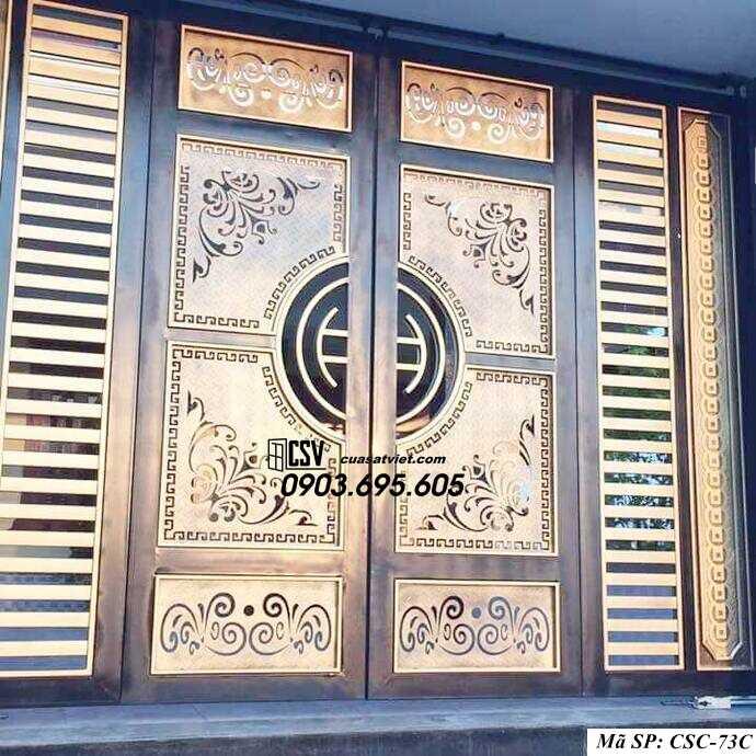 Mẫu cổng nhà đẹp CSC 73c