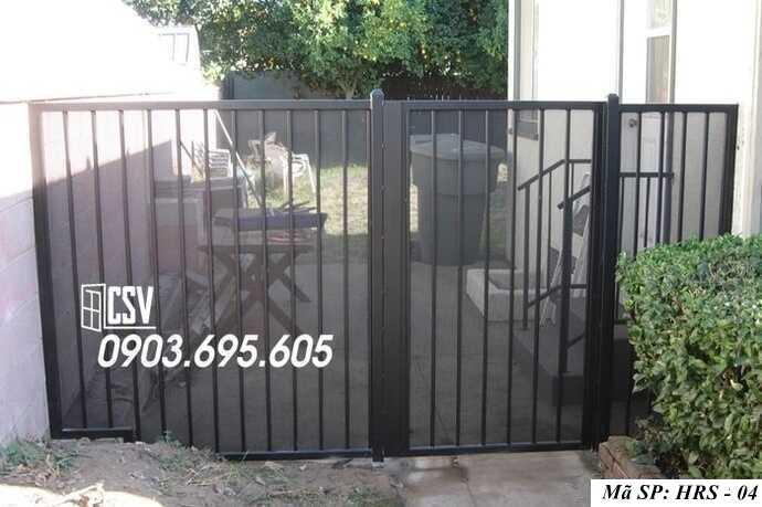 Mẫu hàng rào sắt đẹp HRS 04
