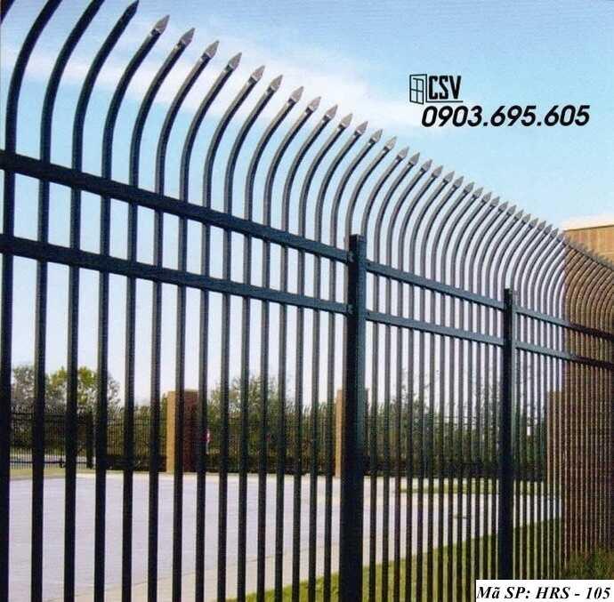 Mẫu hàng rào sắt đẹp HRS 105