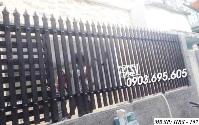 Mẫu hàng rào sắt đẹp HRS 107