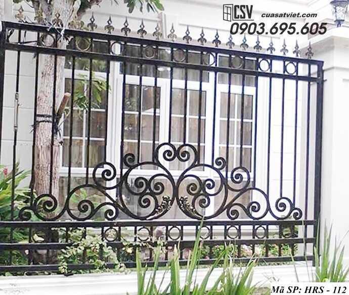 Mẫu hàng rào sắt đẹp HRS 112