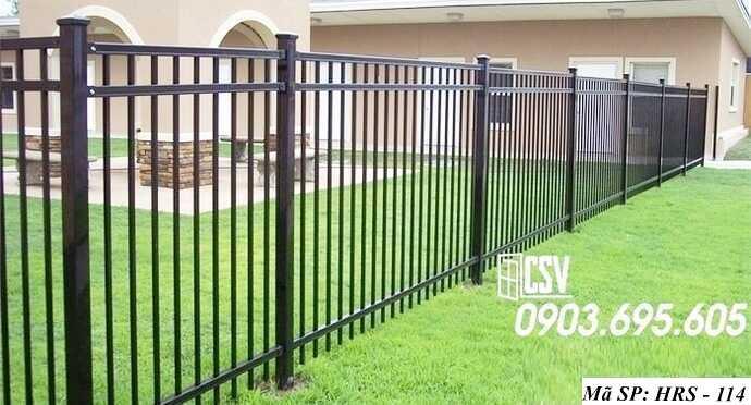Mẫu hàng rào sắt đẹp HRS 114