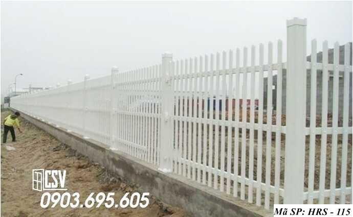 Mẫu hàng rào sắt đẹp HRS 115