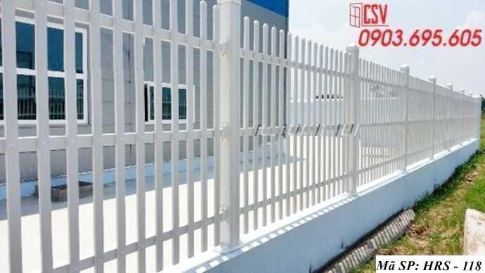 Mẫu hàng rào sắt đẹp HRS 118