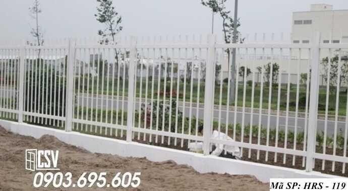 Mẫu hàng rào sắt đẹp HRS 119