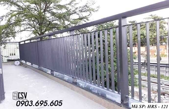 Mẫu hàng rào sắt đẹp HRS 121