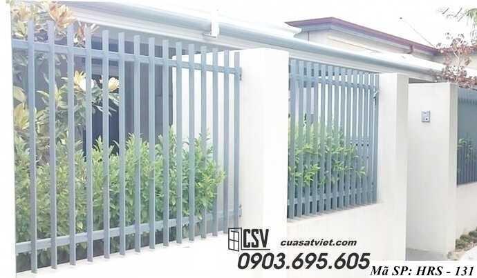 Mẫu hàng rào sắt đẹp HRS 131