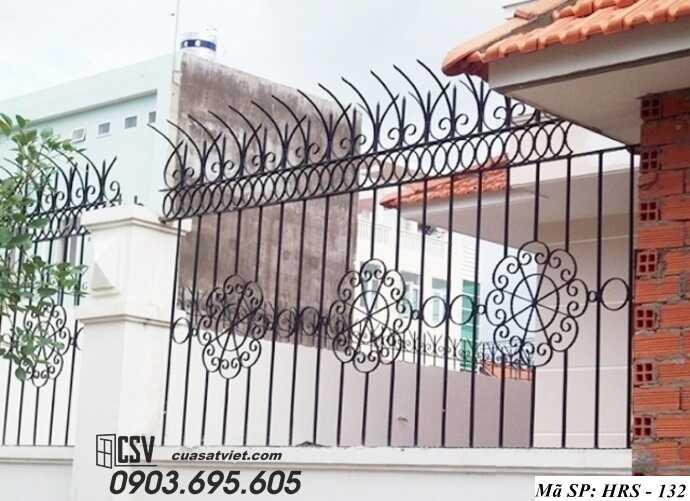 Mẫu hàng rào sắt đẹp HRS 132