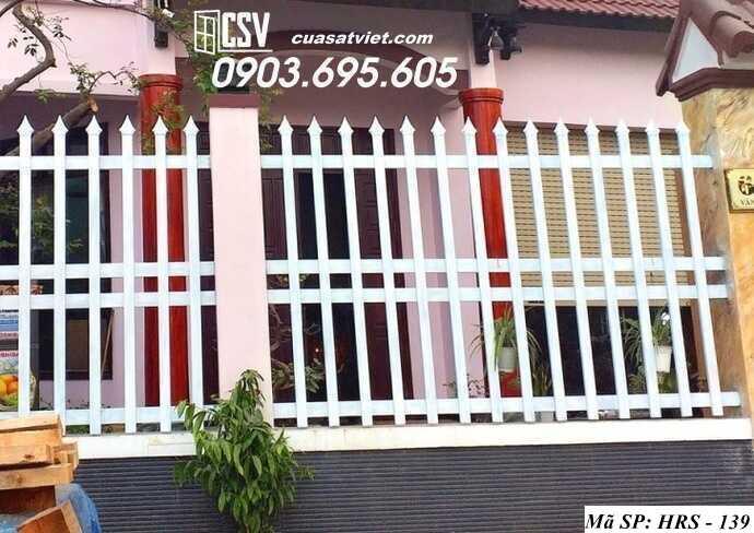 Mẫu hàng rào sắt đẹp HRS 139