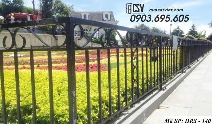 Mẫu hàng rào sắt đẹp HRS 140