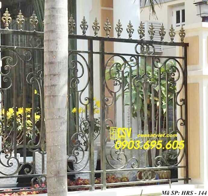 Mẫu hàng rào sắt đẹp HRS 144