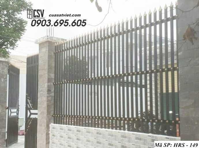 Mẫu hàng rào sắt đẹp HRS 149