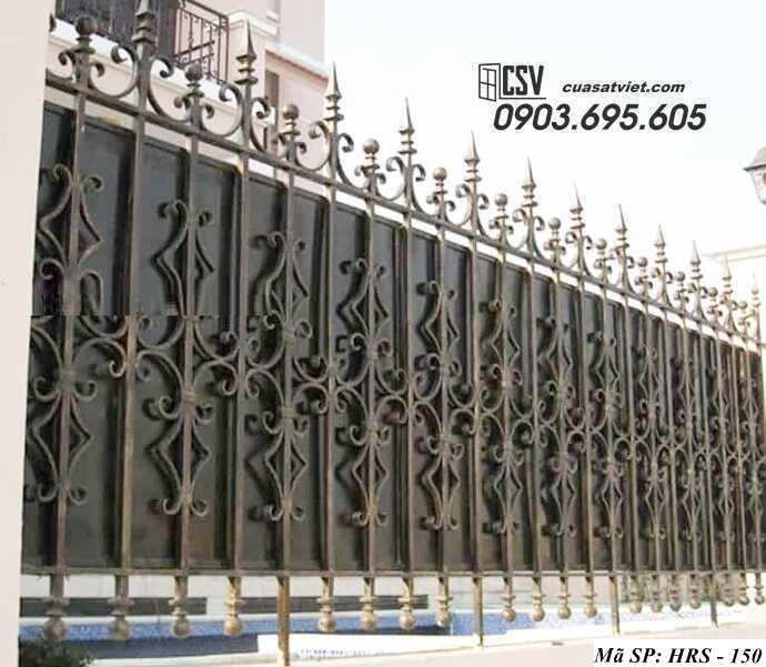 Mẫu hàng rào sắt đẹp HRS 150