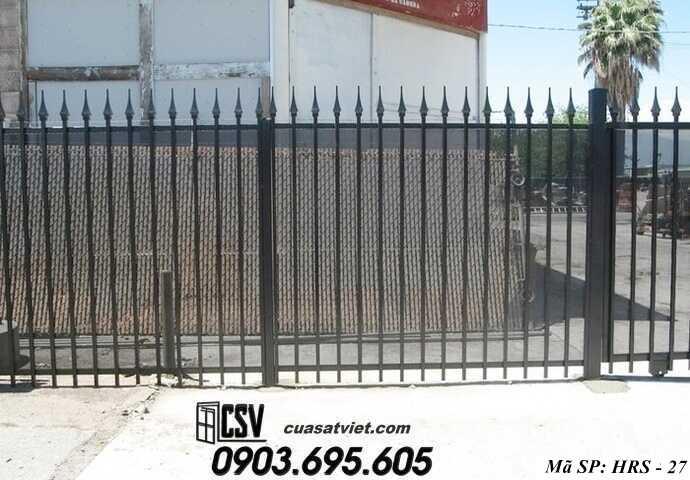 Mẫu hàng rào sắt đẹp HRS 27