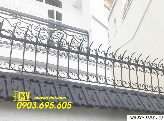 Mẫu hàng rào sắt đẹp HRS 31