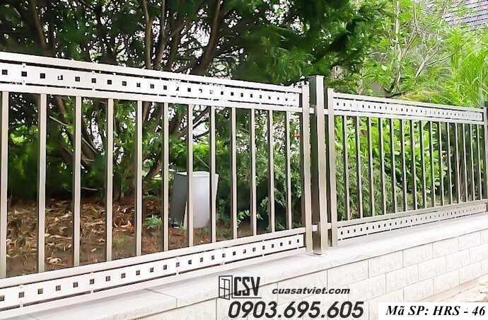 Mẫu hàng rào sắt đẹp HRS 46