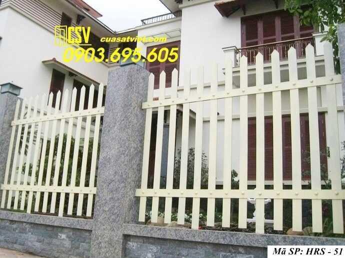 Mẫu hàng rào sắt đẹp HRS 51