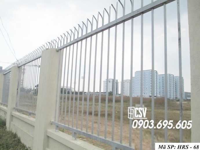 Mẫu hàng rào sắt đẹp HRS 68