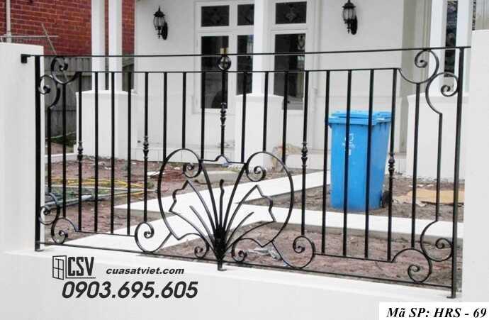 Mẫu hàng rào sắt đẹp HRS 69