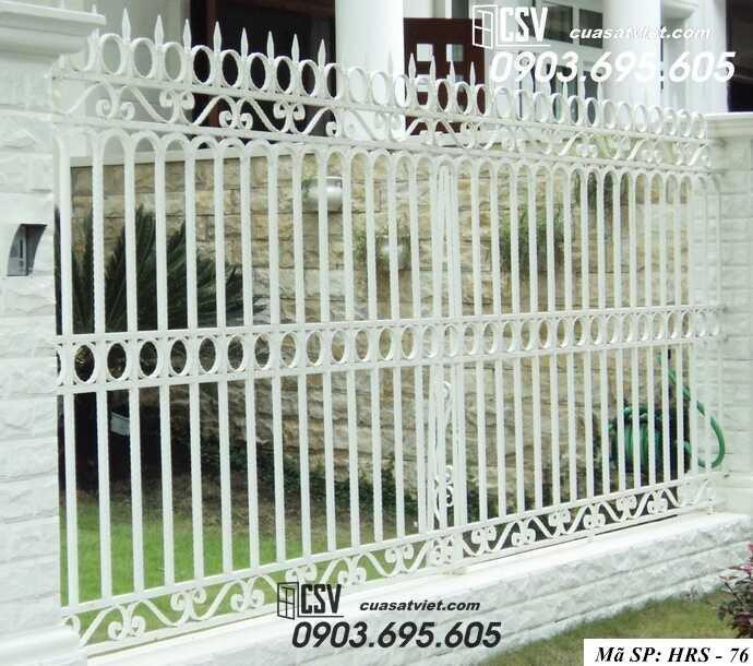 Mẫu hàng rào sắt đẹp HRS 76