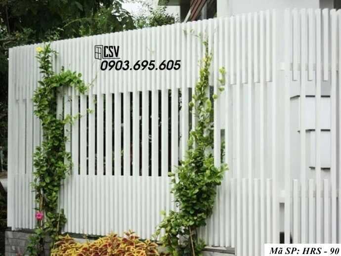 Mẫu hàng rào sắt đẹp HRS 90
