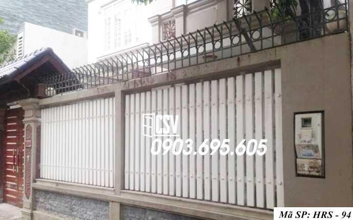 Mẫu hàng rào sắt đẹp HRS 94