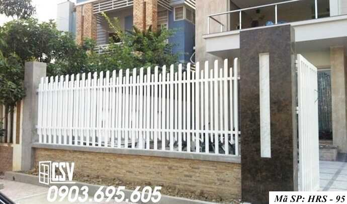 Mẫu hàng rào sắt đẹp HRS 95