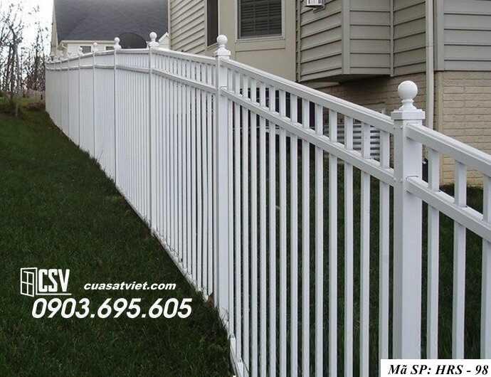 Mẫu hàng rào sắt đẹp HRS 98