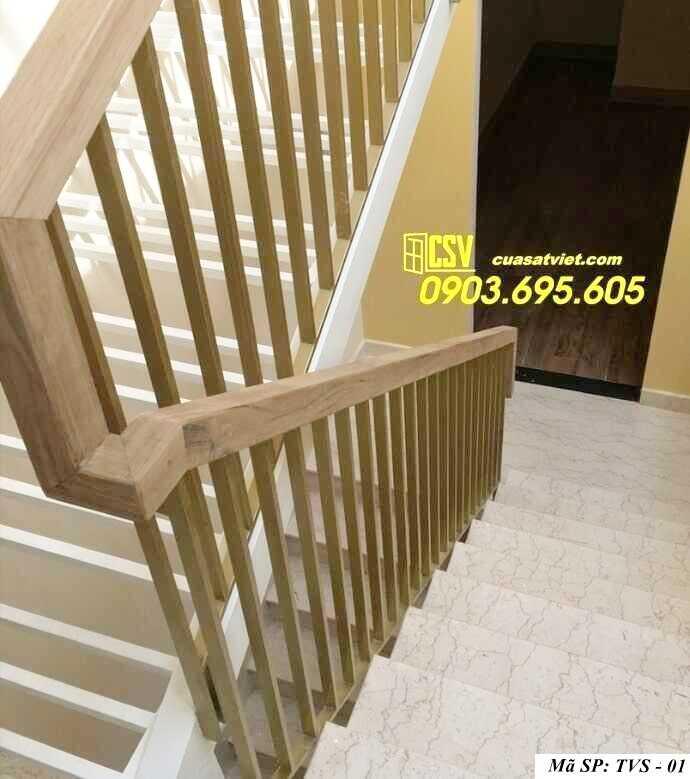 Mẫu tay vịn cầu thang đep TVS 01