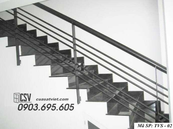 Mẫu tay vịn cầu thang đep TVS 02