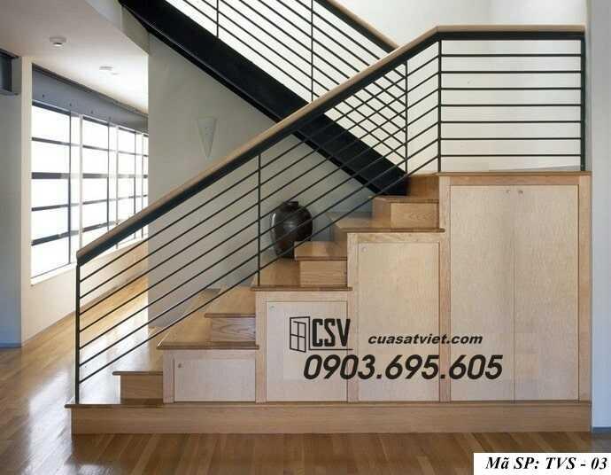 Mẫu tay vịn cầu thang đep TVS 03