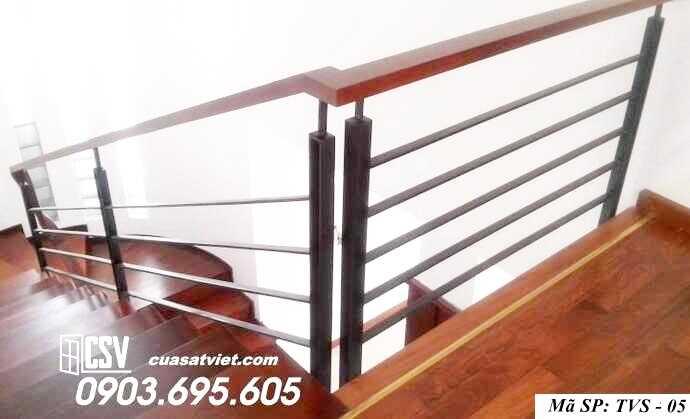 Mẫu tay vịn cầu thang đep TVS 05