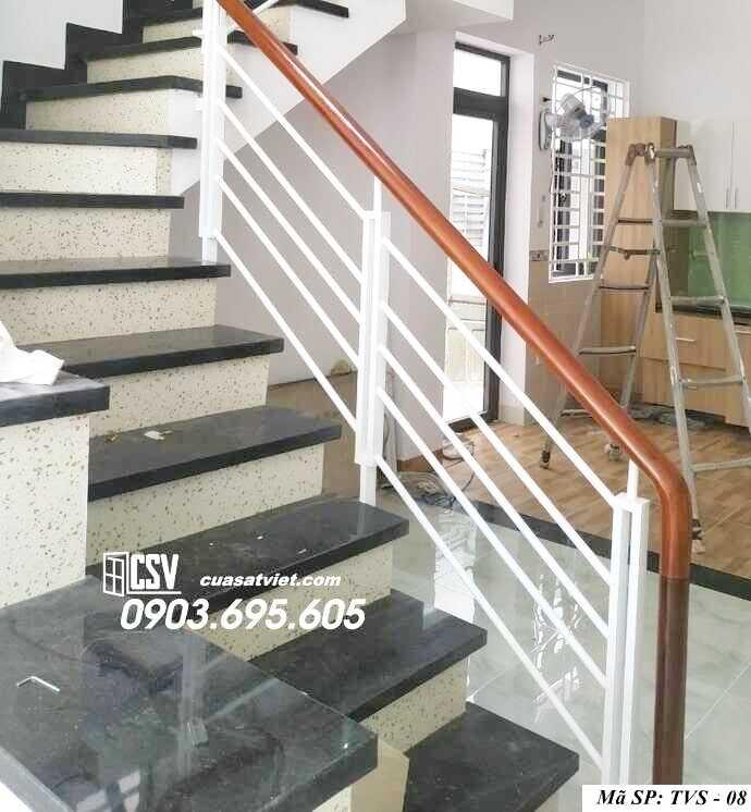 Mẫu tay vịn cầu thang đep TVS 08