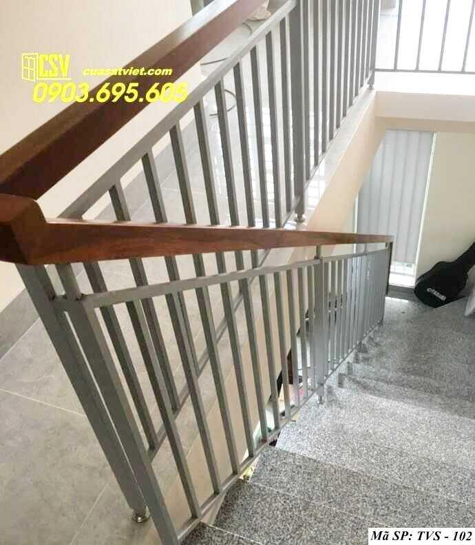 Mẫu tay vịn cầu thang đep TVS 102