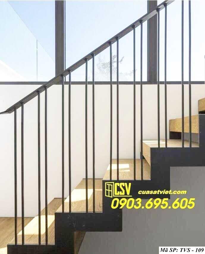 Mẫu tay vịn cầu thang đep TVS 109