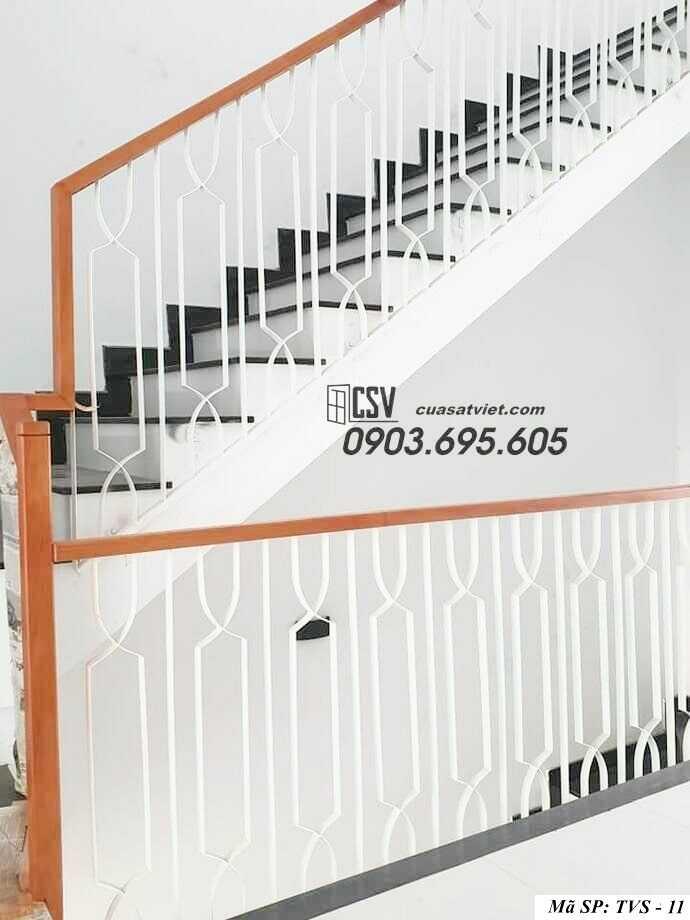 Mẫu tay vịn cầu thang đep TVS 11