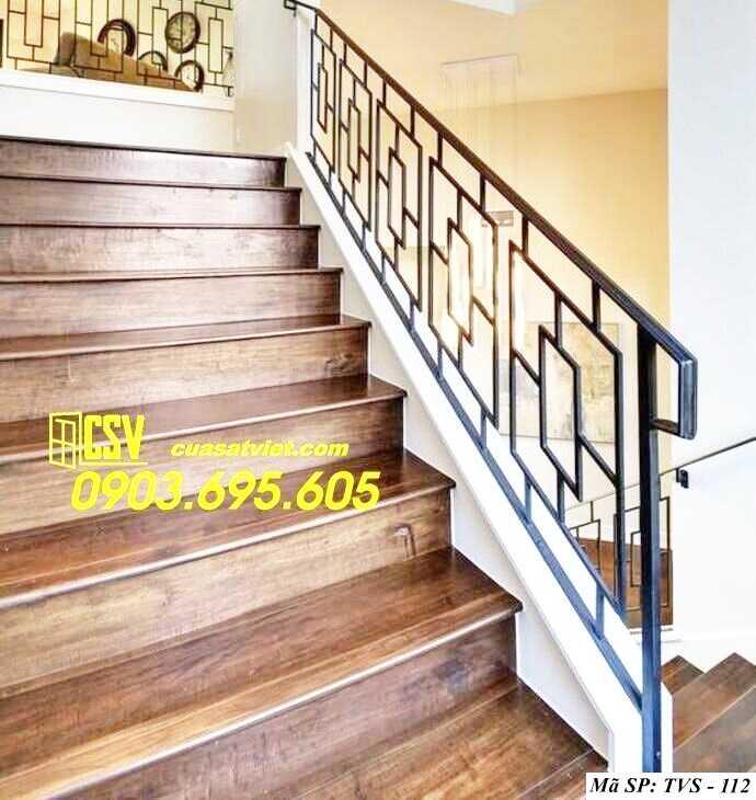 Mẫu tay vịn cầu thang đep TVS 112