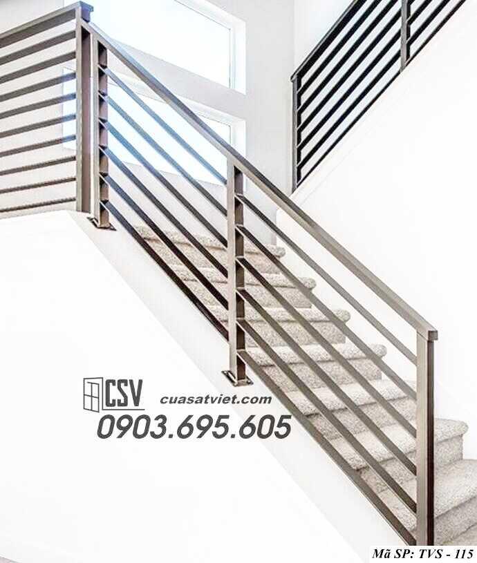 Mẫu tay vịn cầu thang đep TVS 115